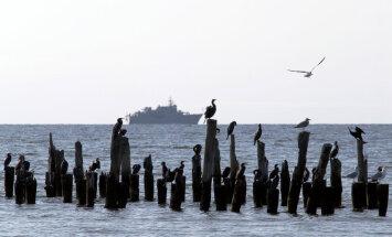 Latvijas Jūras spēku kuģis pie Igaunijas krastiem neitralizēs kara laiku mīnas