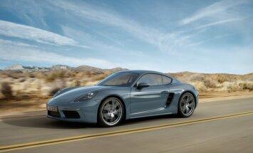 Arī modernizētais 'Porsche Cayman' ieguvis četrcilindru dzinēju