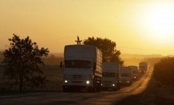 Krievija uz Ukrainu nosūta ceturto humānās palīdzības konvoju
