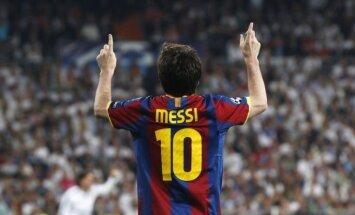 Mesi nodrošina 'Barcelona' uzvaru pār 'Real Madrid'