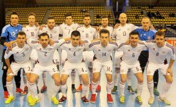 Latvijas telpu futbola izlase divās pārbaudes spēlēs tiksies ar Velsu