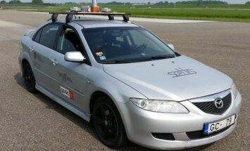 Šonedēļ Ķīpsalā varēs apskatīt Latvijā radītu pašbraucošo auto