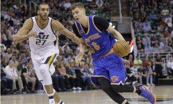 Porziņģa 24 punkti neglābj 'Knicks' no trešā zaudējuma pēc kārtas