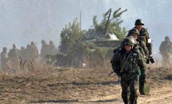 Ukrainas parlaments nobalso par NATO un ES karaspēku ielaišanu valstī