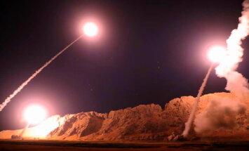 Video: Irāna atriebj Ahvāzas slaktiņu, šaujot pa 'Daesh' Sīrijā; viena raķete nomaldās