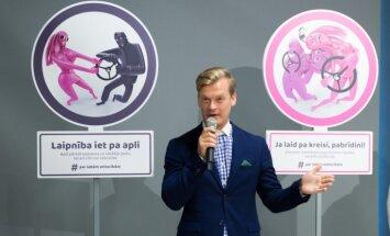CSDD ar asprātīgām ceļa zīmēm uzsāk kampaņu par labām attiecībām uz ceļa