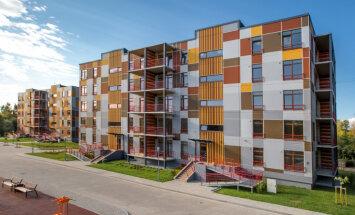 ФОТО: третий многоквартирный дом комплекса Priedes сдан в эксплуатацию