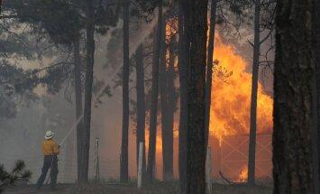 Kolorādo plosās nekontrolējami mežu ugunsgrēki