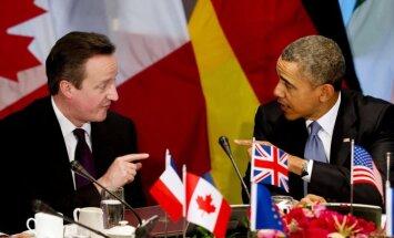 Krieviju izslēdz no G8; draud ar tālākām sankcijām