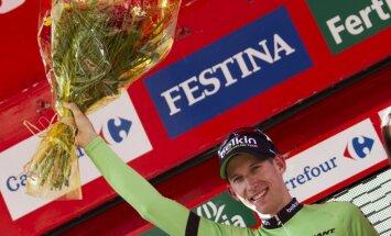 Molema triumfē 'Vuelta Espana' 17.posmā; kopvērtējuma līderis joprojām Nibali