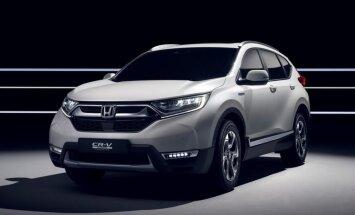 'Honda' jaunumi Ženēvas autoizstādei