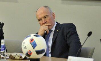 Indriksons vēlas Latvijas futbola izlases galvenā trenera nomaiņu