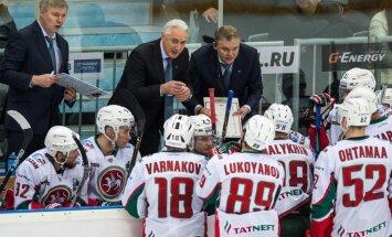 Magņitogorskas 'Metallurg' un 'Ak Bars' gūst otrās uzvaras KHL konferences pusfināla dueļos