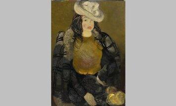 100 dārgumu mākslas muzejā: Pauļuka 'Sievietes portrets'