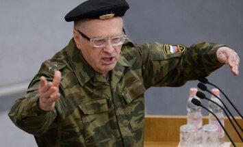 Žirinovskis saņem ES sankciju triecienu