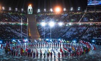 Olimpiskā uguns nodziest – Phjončhanas ziemas olimpiskās spēles ir noslēgušās. Teksta tiešraide