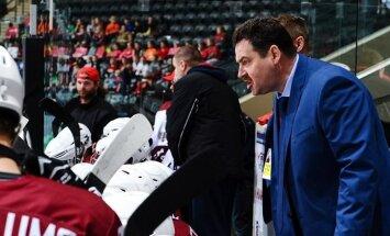 Первые контрольные игры сборная Латвии по хоккею проведет под руководством Милюнса