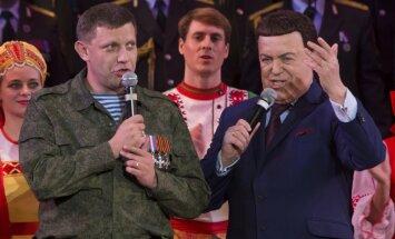 Donbasā dzimušais Kobzons vairs nevarēs iebraukt ES; sankcijas skar arī 18 citus