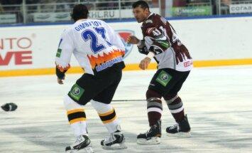 Video: trīs Ivanāna kautiņi iekļuvuši KHL sezonas TOP 10