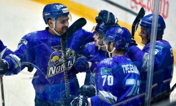 Četri vārti trešdaļā ļauj 'Baris' hokejistiem negaidīti apspēlēt Maskavas CSKA