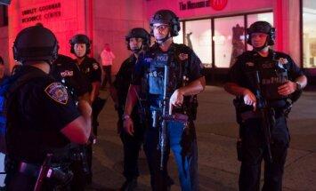 Spriedze ASV turpinās: Ņūdžersijā pie dzelzceļa stacijas nogrand sprādziens