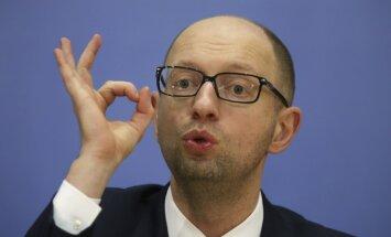 Krievijā aizmuguriski arestēts Ukrainas ekspremjers Jaceņuks