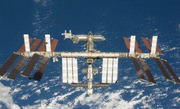 No starptautiskās stacijas kosmosā noplūst amonjaks