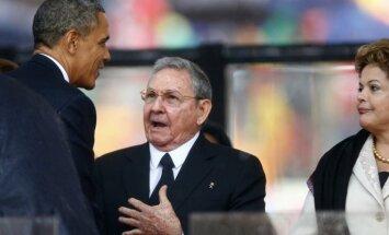 Kubas prezidents aicina uz 'civilizētām attiecībām' ar ASV
