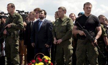 Separātisti: noslēdzas Donbasa konflikta aktīvā fāze