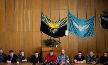 Novērotāji varēs strādāt Austrumukrainā, kad tur nebūs ieroču, paziņo EDSO