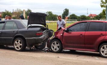 В автомобильных авариях пострадали 22 человека