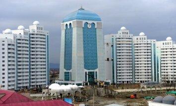Foto: Krievijas jaunais lepnums – Šali pilsēta Kaukāzā