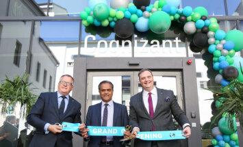 ASV IT uzņēmums 'Cognizant' Rīgā nodarbinās 300 darbiniekus