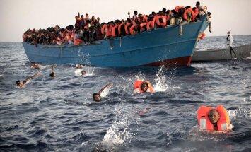 Акулы атаковали тонущих мигрантов в Средиземном море