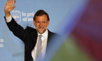 Spānijas premjers sniedz parlamentam paskaidrojumus korupcijas lietā