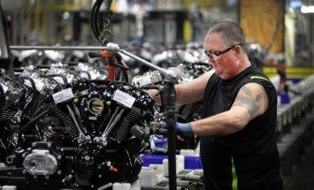 Trampa un ES tarifi: 'Harley-Davidson' pārcels daļu ražošanas ārpus ASV