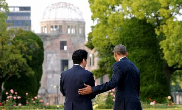 Japānas premjerministrs ieradīsies vēsturiskā vizītē Perlharborā