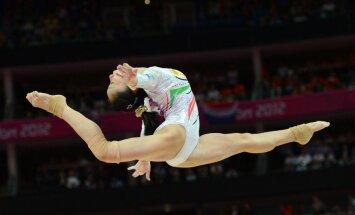 Londonas Olimpiādes populārākais sporta veids - mākslas vingrošana