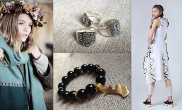 Pašmāju dizaineru pērles: idejas, kā sapucēties Baltā galdauta svētkiem