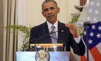 Obama pauž 'dziļu satraukumu' par uzbrukumiem Ukrainā