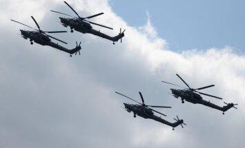 Stratfor: Россия перебросила в Сирию новые вертолеты