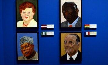 ФОТО: Джордж Буш-младший написал портрет Вайры Вике-Фрейберги