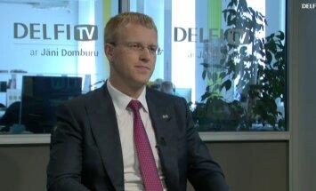ВИДЕО. Интервью на Delfi TV: Янис Домбурс vs Андрей Элксниньш