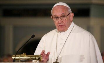 Pāvests aicina kristiešus būt vienotiem, nepadoties un nest ticību pasaulē