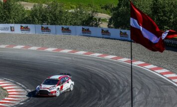 'World RX' Norvēģijas posma ievadā Baumanis sestais, Nitišs - 14.