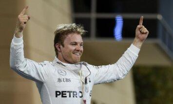 Rosbergs izcīna uzvaru arī F-1 sezonas otrajā posmā