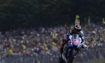'MotoGP' pasaules čempions Lorenso pēc sezonas kļūs par 'Ducati' komandas braucēju