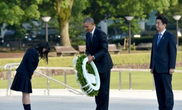 Обама почтил память жертв атомной бомбардировки Хиросимы
