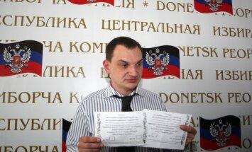Maskavā dzīvojošajiem piedāvā piedalīties 'referendumā' par 'tautas republikām' Ukrainā
