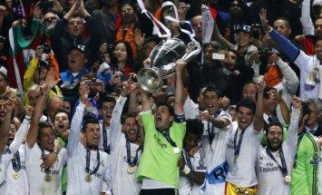 Madrides 'Real' izglābjas un triumfē Čempionu līgā